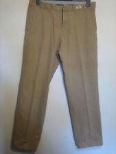 BB19) para hombre marrón Tommy hilfigure Madison Chino Pantalones Cintura 34 pierna 34 Cierre De Cremallera