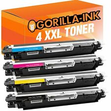 4 Toner-Patronen XXL für HP Laserjet Pro CP1025 100 Color MFP M175NW CE310A-13A