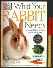RSPCA What Your RABBIT NEEDS  EC 64pg  Rabbits Handbook HUNDREDS of IDEAS!