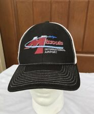 MISSOULA INTERNATIONAL AIRPORT MONTANA HAT SNAPBACK TRUCKER