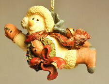 Boyds Bears & Friends: Chilly With Wreath - # 2564 - Folkstone Ornament
