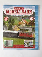 DeAgostini  Miniatur Modellbahn Spur N Nr.48  mit Heft   Neu/OVP