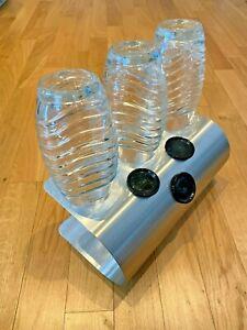 SodaNature | 3er Edelstahl Abtropfhalter/ Flaschenhalter für SodaStream- U-Shape