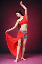 New Special Modal Belly Dancing Practice Costumes Set 2PCS Top+Skirts