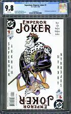 Superman Emperor Joker #1 (DC, 2000) CGC 9.8 NM++!!