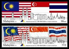 Malaysia 2013 Tri-Nation 3rd Stamp Exhibition ~ Mint