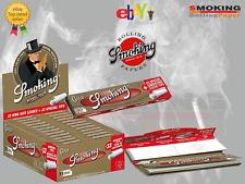 Cartine Smoking Gold King Size Slim Lunghe Oro  Filtri In Carta 12 24 Libretti