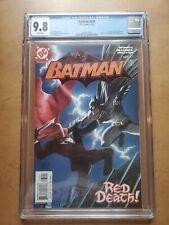 Batman #635 CGC 9.8 1ST APPEARANCE JASON TODD RED HOOD FIRST PRINT DC COMIC 2005