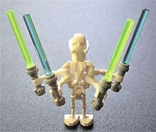 LEGO STAR WARS MINIFIGURE GENERAL GRIEVOUS from SETS 7255 & 7656 NEW MINT!  C25
