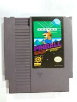 Pinball ORIGINAL NINTENDO NES GAME Tested + Working & Authentic