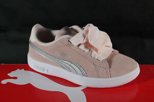 Puma Sport Shoes Running Shoes Loafers Casual Shoes Trainers Pink Leather New