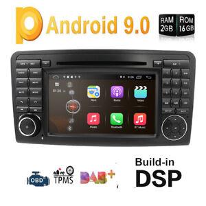 Mercedes-Benz ML-W164 GL-X164 Android 9.0 Car Stereo Headunit GPS Sat Nav DVD