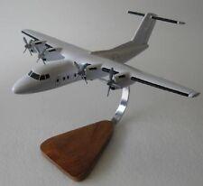 De Havilland DHC-7 Dash-7 Airplane Desktop Wood Model