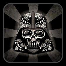 """4"""" Darth Vader Sugar Skull vinyl sticker. Star Wars Empire decal for car, laptop"""