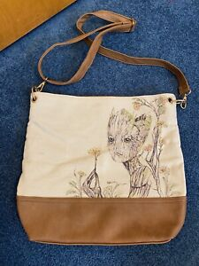 Loungefly Marvel Guardians Of The Galaxy Floral Groot Bag Boxlunch Exclusive