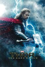 #Z197 Thor The Dark World Movie Poster 24x36