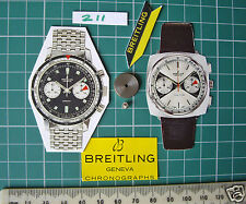 Valjoux 7730-34 Barile & Arbor 182 +195.1970s Breitling Sprint Datora toptime
