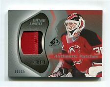 2003-04 SP Game Used Authentic Patches #APMB Martin Brodeur 10/15