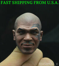 1/6 Mike Tyson Head Sculpt Boxing King Tattoo For Hot Toys JIAOUDOL Figure ❶USA❶
