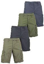 JACK & JONES Herren-Cargo-Shorts aus Baumwolle