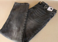 Ladies M&S Collection Size 12 Regular Mid Rise Straight Ankle Grazer Jeans