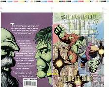 GEORGE PEREZ HULK & MAESTRO FUTURE IMPERFECT ORIGINAL COVER PROOF PRODUCTION ART