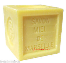 6 Savon de Marseille French Provence Bee HONEY Bath Soap New Handmade Each 300g