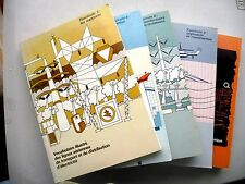 SET OF 4 VOLS + 1 TRANSPORT & DISTRIBUTION OF ELECTRICITY HYDRO QUEBEC CANADA
