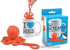 OCTEAPUS TEA INFUSER CUTE OCTOPUS SQUID LOOSE LEAF SILICONE MUG CUP STRAINER