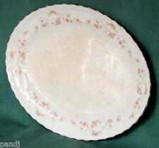 "Pope Gosser FLORENCE Scalloped 15-3/8"" Oval Platter"