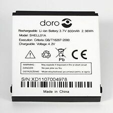 Genuine Original Battery for Doro Phone Easy 612-611 Work Doro 409,410,610,632
