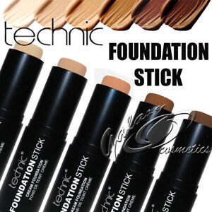 Technic Foundation Stick Contour & Concealer Easy to Blend Creamy formula
