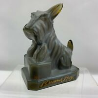 "Boyd Glass JB Scottie Scotty Dog ""Violet Slate""  Signed"