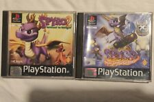 Spyro 1 + 2 Ps1 - Year Of The Dragon & Gateway To Glimmer (Tested-fully working)