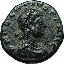 ARCADIUS 388AD Authentic Ancient Genuine Roman Coin VICTORY Angel Captive i66393