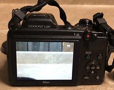 Nikon Coolpix L120 14.1 mp digital camera *USED*