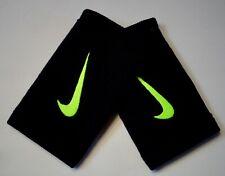 Nike Reveal Dw Doublewide Wristbands Black/Volt Men's Women's