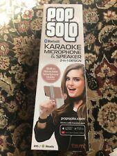 Tzumi Pop Solo Bluetooth Karaoke Microphone 4956My Mic & speaker 2 in 1 design