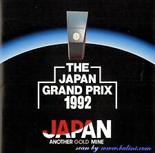 The Japan Grand Prix 1992 (Various Artists) CD [Japanese Import] [Promo] [RARE]
