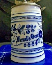 'Faust'S Own' Pre-Pro Porcelain Stein, 1890'S(?)