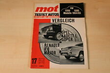 71856) VW 1200 1500 - Renault R 8 Major - Opel Kadett L Super - MOT 17/1964