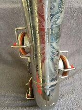Old alt  saxophon  Hans Riedl  Musikinstrumenten Graslitz
