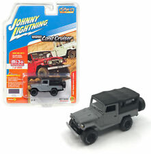 Johnny Lightning 1:64 1980 Toyota Land Cruiser Soft Top Model Flat Gray JLCP7030