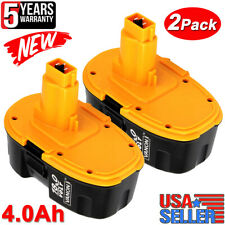 2XUpgraded For Dewalt DC9096-2 18V 18Volt 4.0Ah XRP Battery DC9098 DC9099 DW9095