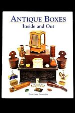 Antique Boxes-Inside and Out Illustrated Genevieve Cummins Genevieve E. Cummins