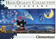 Clementoni 39449 - Disney Panorama Collection - Mickey and Minnie - 1000 Pieces,