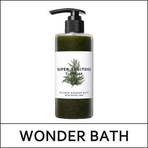 [WONDER BATH] Super Vegitoks Cleanser 300ml + Pump / Green / Byvibes / Korea UL5