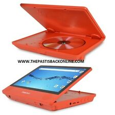 """Digiland DL9003MK 2n1 Android Tablet DVD Player Quad-Core 1.3GHz 1GB 16GB 9"""" RED"""
