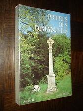 PRIERES DES DIMANCHES - Année B - Lucien Deiss 1981