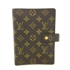 100% Authentic Louis Vuitton Monogram Agenda MM Notebook Cover /61462